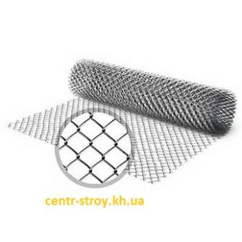 Сітка рабиця (1,5 м) оцинкована (клітка 55 мм)