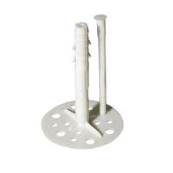 Кріплення для пінопласту з пл.гвоздем 10 * 120 (100шт)