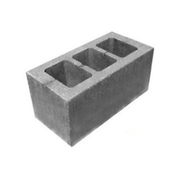 Шлакоблок 400 * 200 * 200 мм (стіновий блок)