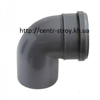Куточок 50 мм (коліно) каналізаційний (90 градусів)
