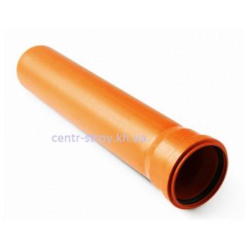 Труба для зовнішньої каналізації 160 мм (2м) 3,2 мм