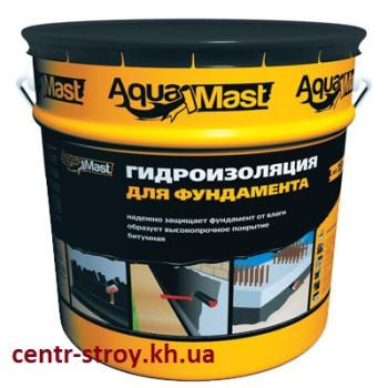 Мастика бітумна 10 кг AquaMast
