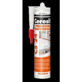 Ceresit CS 24 Герметик універсальний силіконовий еластичний