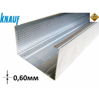 KNAUF профіль CW 75 3м (0,6 мм)