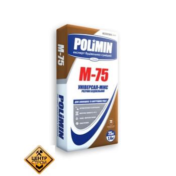 Полімін М-75 розчин будівельний по 25кг (POLIMIN)
