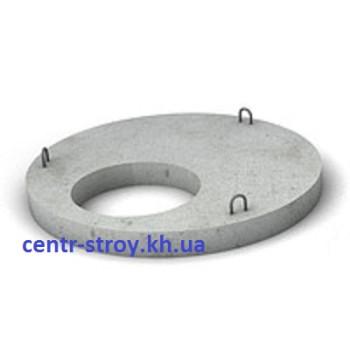 Кришка на бетонне кільце діаметром 100 см