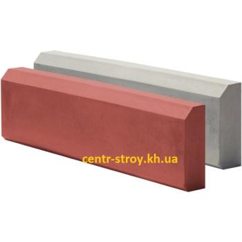 Поребрик тротуарний (бордюр) вібролітой (8 см)