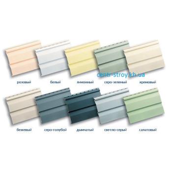 Сайдинг вініловий панель (3,66 м) кольоровий